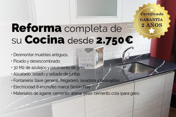 Oferta Reforma Completa de su Cocina